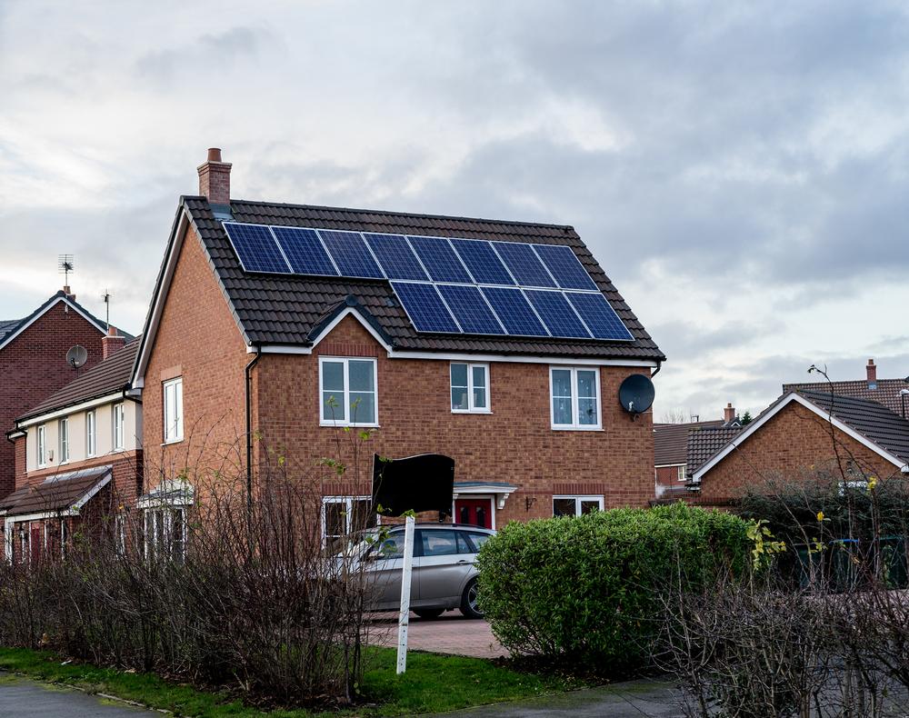 solar panels in britain